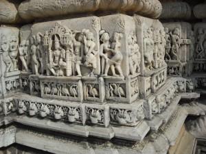 Erotik am Jain Tempel