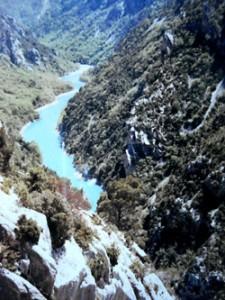 Gorges du Verdon - wunderbare Farben