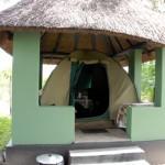 Hwange Nationalpark -Shumba Campingplatz - Zelt
