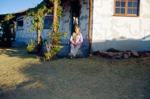 Vor dem Masakala-Guesthouse