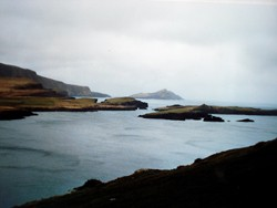Meersicht von der Küstenstraße aus
