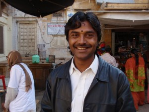 Prakash unser Fahrer