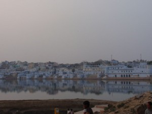 Abendstimmung in Pushkar