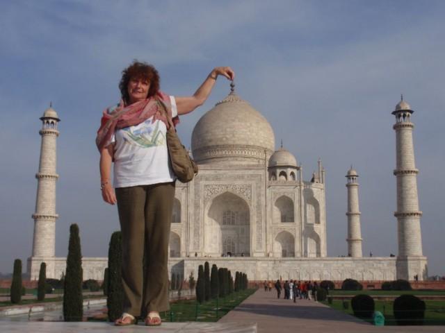 Indien Erlebnisurlaub - das Taj Mahal in Agra