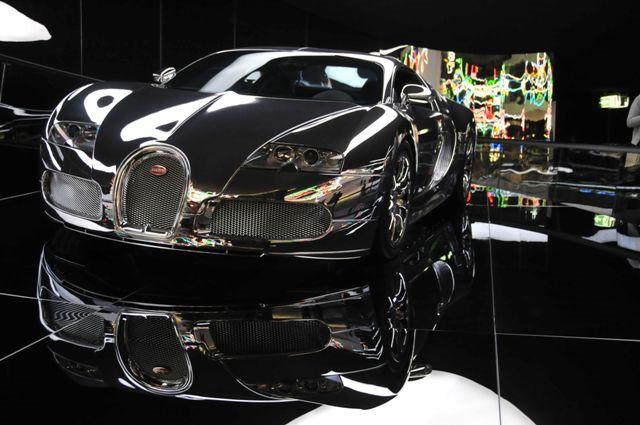 das Auto der Zukunft könnte vielleicht so aussehen ...