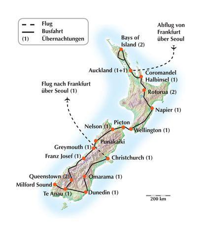 """Gruppenreise nach Neuseeland - Eine Rundreise zum """"Schönsten Ende der Welt"""""""