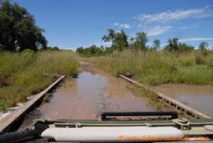 Hwange Nationalpark - Robins Camp - Wasser überall