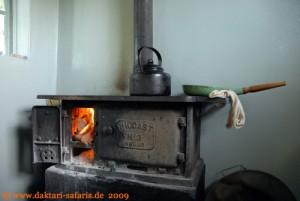 Hwange Nationalpark - Shumba Camp - Frühstückszeit