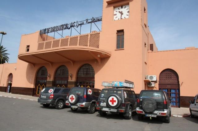 Mit dem Auto nach Gambia: Pausentag in Marrakesch