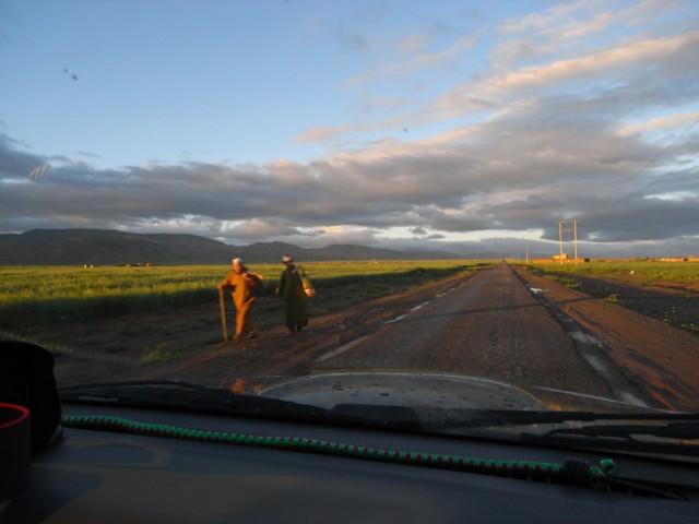 Mit dem Auto nach Gambia. 4.Etappe: Marrakesch - Tan-Tan