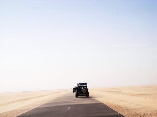 Mit dem Auto nach Gambia. 7. Etappe: Nouadhibou / Mauretanien bis St-Louis / Senegal