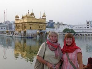 im goldenen Tempel