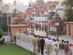 die Grenze nach Pakistan