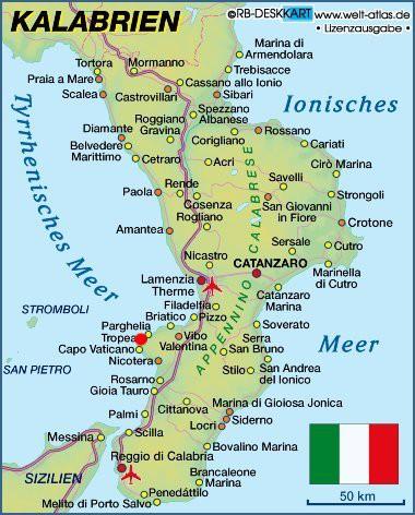 Süditalien-Urlaub in Kalabrien-Bilder von Tropea, Sehenswürdigkeiten u. Strände