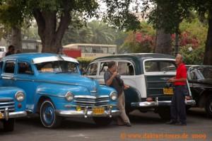 Kuba - Havanna - Taxistand