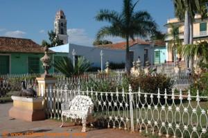 Kuba - Trinidad de Cuba - Plaza Mayor2