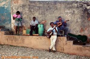 Kuba - Trinidad de Cuba - Salsa Band