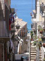 Die engen Gässchen der Altstadt von Pizzo