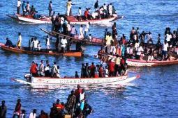 Fischer auf dem Senegalfluss