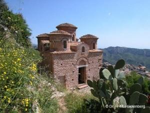 Die byzantinische Kirche Cattolica in Stilo