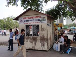 Verkehrspolizei Delhi