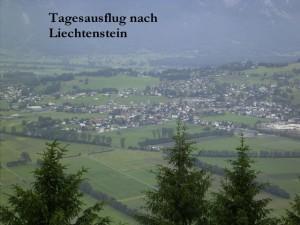 Ausflug nach Liechtenstein