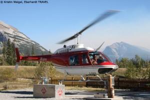 Helikopter Rundflug über die Rocky Mountains