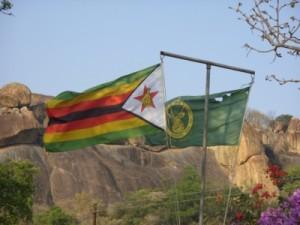 Simbabwe - Flagge