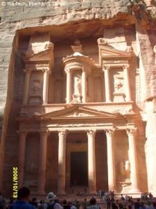 Das Schatzhaus der Felsenstadt Petra