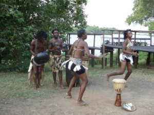 Traditioneller Tanz in Simbabwe