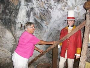 Soldat im Siege Tunnel