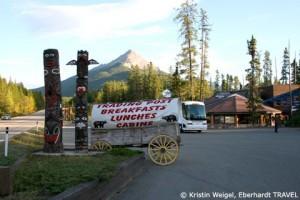 """Unser nächstes Hotel - """"Sunwapta Falls Resort"""" im Jasper-Nationalpark"""