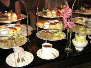 Köstlichkeiten und Leckereien zur Teatime im Emirates Palace