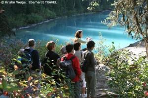Unsere Wanderung am Emerald Lake im Yoho-Nationalpark