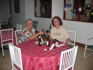 Abendessen im Hotel Mirador