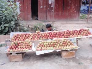 Apfelverkäufer
