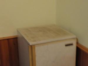 Der Zimmerkühlschrank