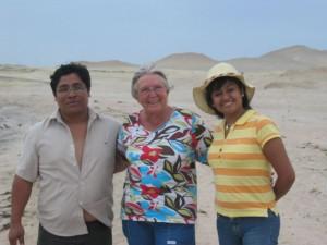 Juanita mit Hugo und Edith