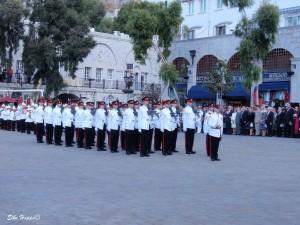 Militärparade in Gibraltar