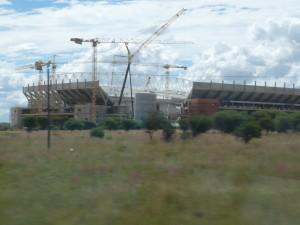 Fußballstadion in Polokwane