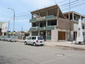 Polizeihauptquartier nach dem Beben
