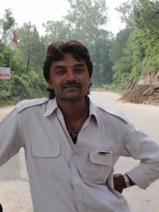 Prakash, unser Fahrer