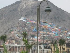 Pueblo Joven in Lima