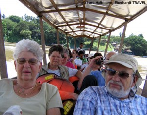 Bootsfahrt durch den Taman Negara Nationalpark