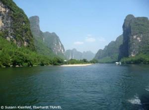 Unsere Bootsfahrt auf dem Li-Fluss