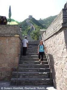 Ich auf der großen Chinesischen Mauer