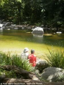 Wir genossen die Ruhe und die Natur im Daintree-Nationalpark
