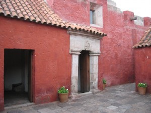 Eingang zum Kloster Santa Catalina