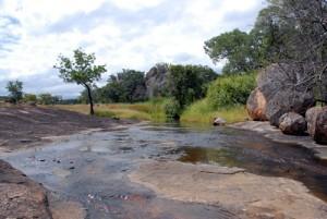 Matobo Nationalpark - Ein kleiner Fluss