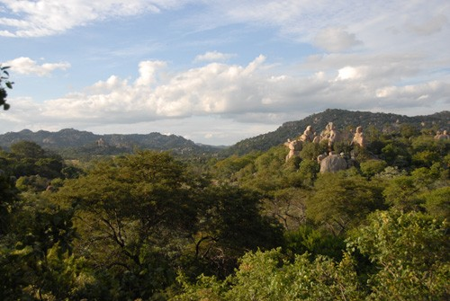 Matobo Nationalpark - Granit-Felsformationen